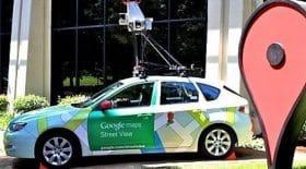 voiture google maps coincé dromadaires