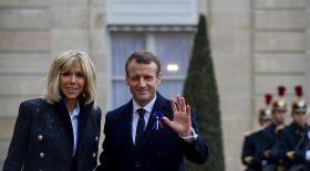 Emmanuel et Brigitte Macron intimes