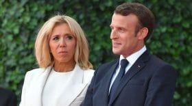 Emmanuel Macron Brigitte Macron déclaration