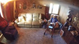 Un incendie ravage la maison d'un homme de 88 ans