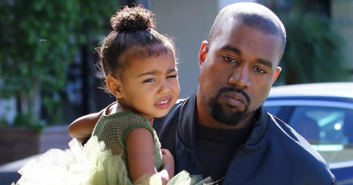 Kanye West adresse des tweets sombres à sa fille North