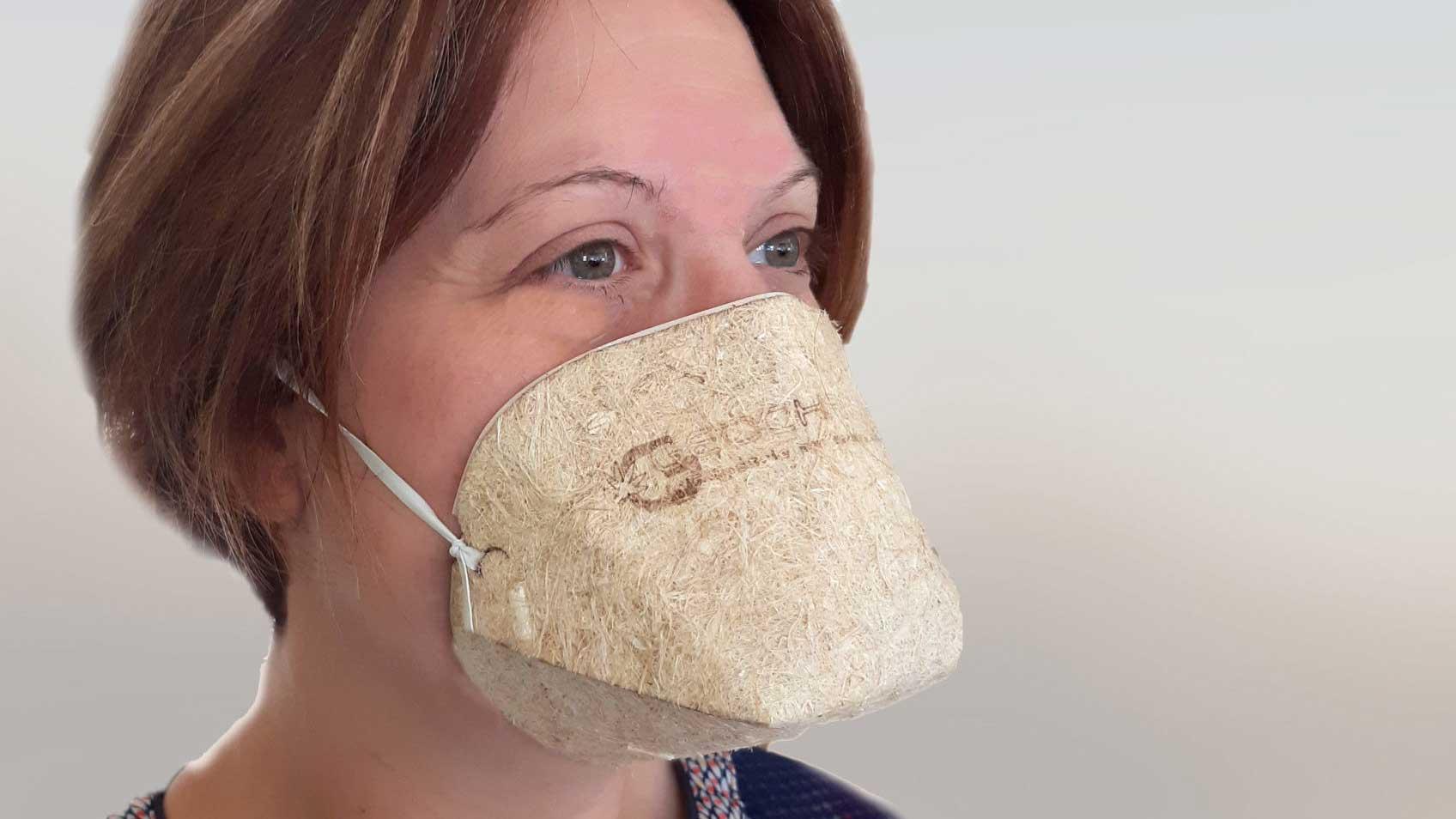 Une société française crée des masques au chanvre biocompostable