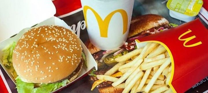 Menu BigMac Mcdonald's