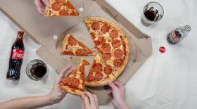 Réchauffer sa pizza au micro-ondes