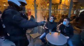 couvre-feu policiers BRAV répression policière paris