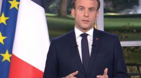 Emmanuel macron donald trump message