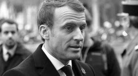 Emmanuel Macron bouleversé