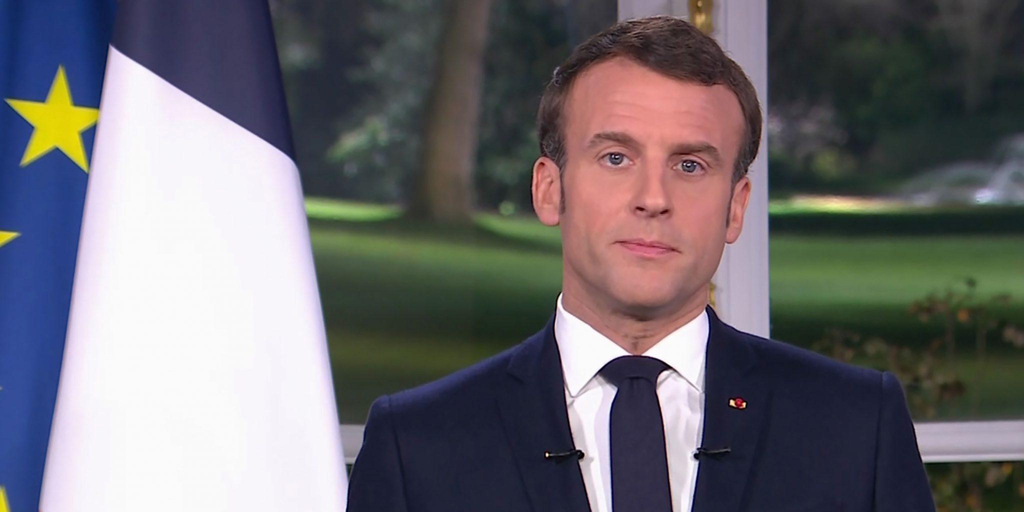 Emmanuel Manon annonce un reconfinement général de la France à partir de vendredi
