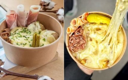 raclette bowl nourriture fromage