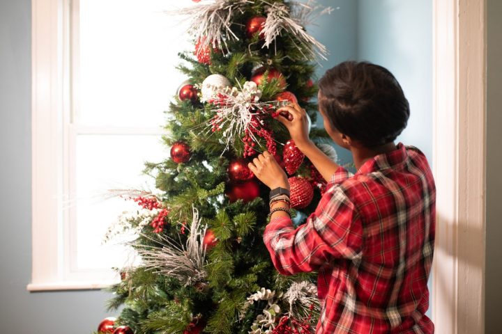 Reconfinement Noël sapin