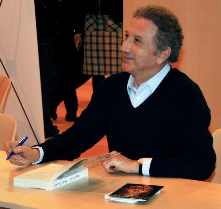 Michel Drucker au salon du livre