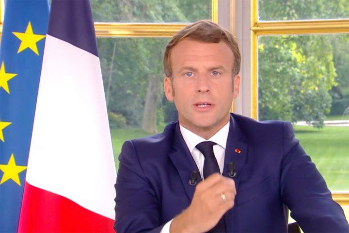 L'interview d'Emmanuel Macron prévue à 16H jeudi — Brut