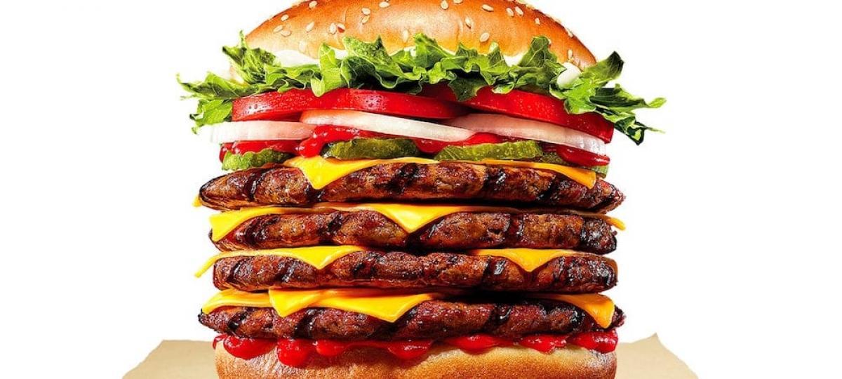 Burger King lance le plus gros burger de son histoire !
