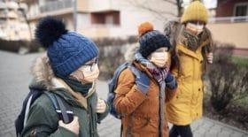 écoliers-masques