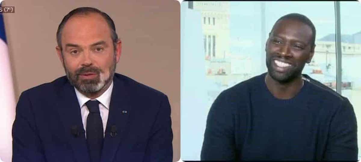 Arsène Lupin : l'échange étonnant entre Omar Sy et Edouard Philippe