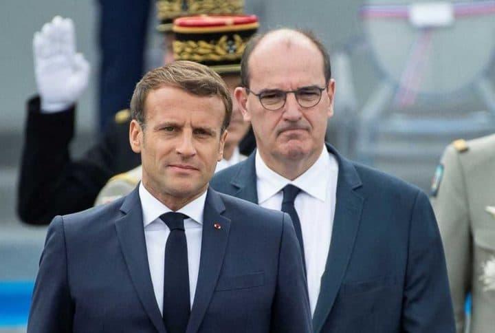 Emmanuel Macron allocution Jean Castex