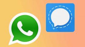 quitter whatsapp application messagerie signal