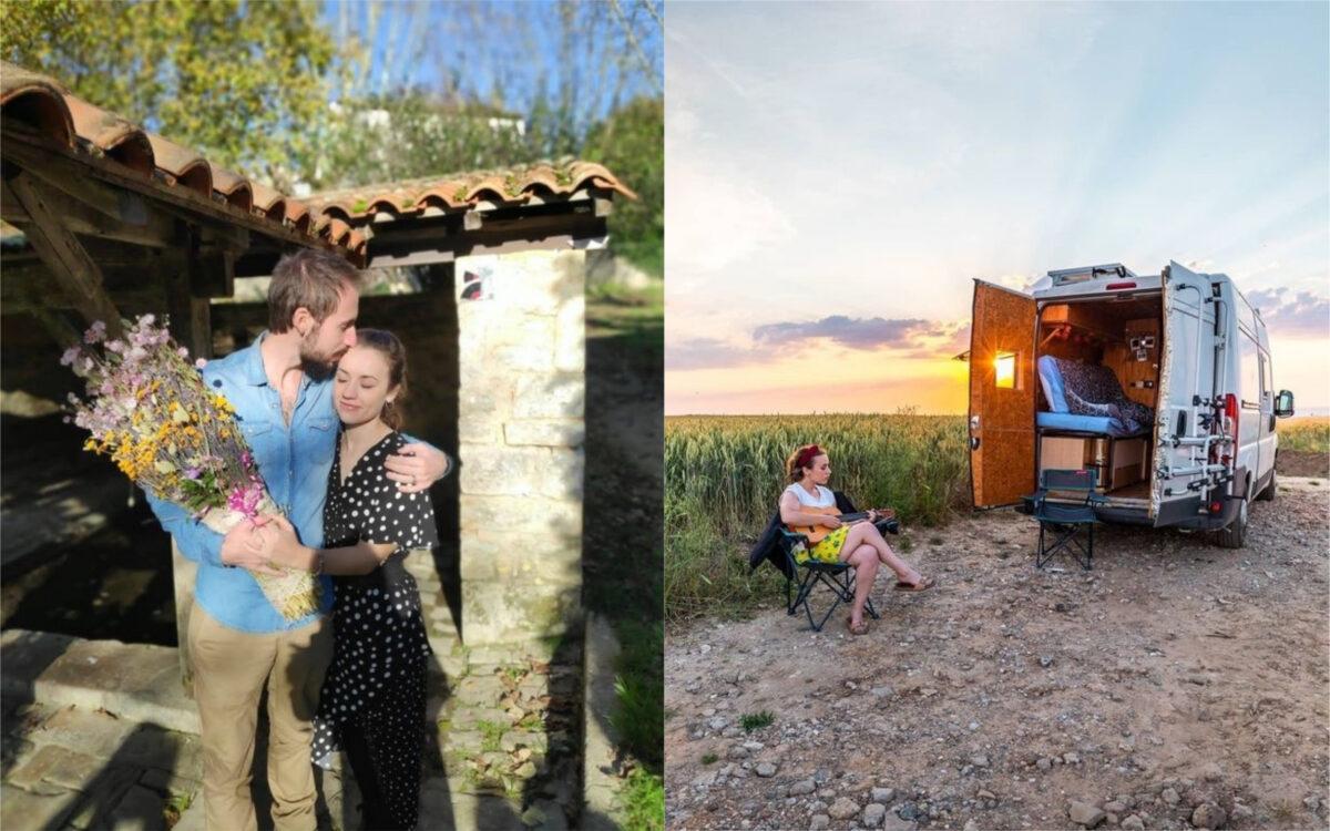 Elle quitte son job et déménage en France pour vivre avec un homme qu'elle connait depuis trois jours