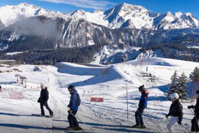 courchevel station ski