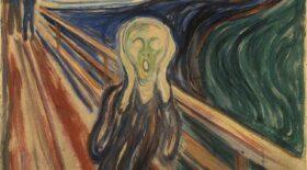 mystère de la phrase sur le tableau du Cri de Munch