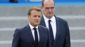 Emmanuel Macron Jean Castex cotes hausse