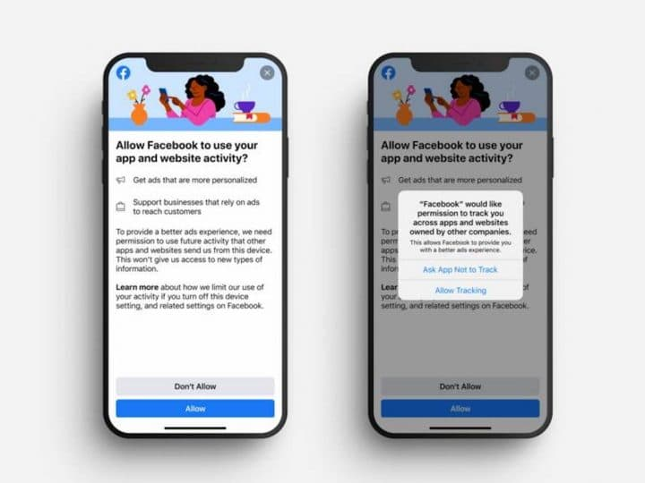Facebook tracage publicitaire Apple