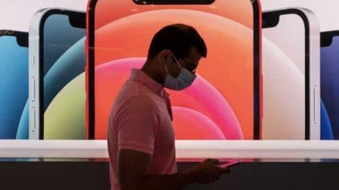 reconnaissance faciale face ID avec masque mise à jour iphone