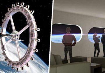 premier hôtel en orbite dans l'espace Voyager