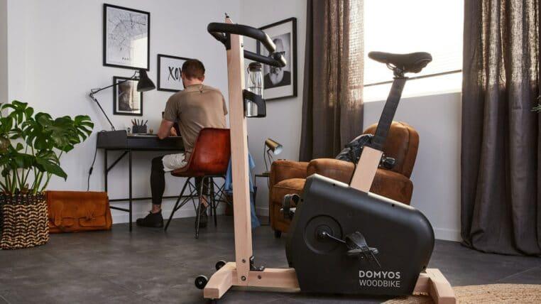 Découvrez le nouveau vélo d'appartement design de Decathlon