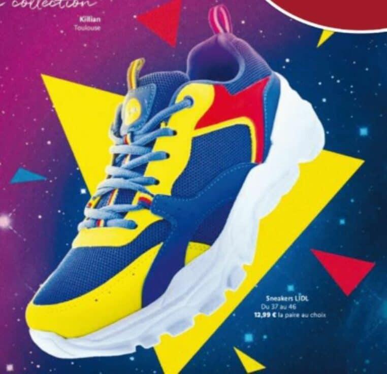 Chaussure Lidl commerce