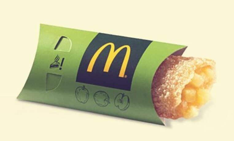 McDonald's chausson aux pommes
