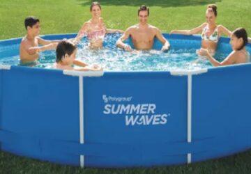Aldi : Une immense piscine a petit prix pour bien profiter de l'été