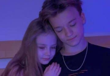 Choc : Des influenceurs ukrainiens âgés de 8 et 13 ans se marient et vivent ensemble !