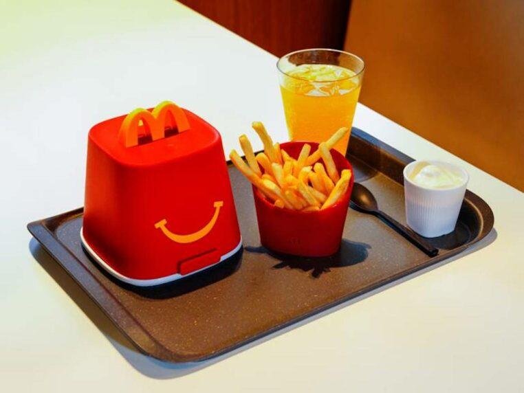 McDonald's vaisselle réutilisable