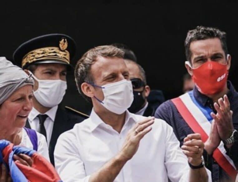 Emmanuel Macron affirme que la France n'est pas une dictature