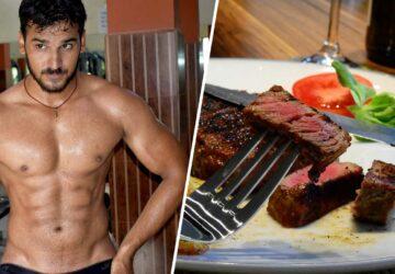 les hommes mangent de la viande pour être virils