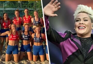 la chanteuse Pink paie l'amende des joueuses de beach handball