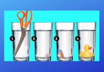 énigme verre eau