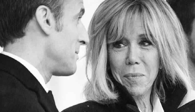 Brigitte Macron ose la robe à paillettes. Et cela lui va à ravir !