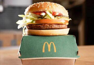 McDonald's s'associe avec Beyond Meat pour le lancement d'un burger Vegan !