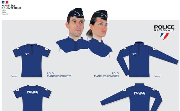 Nouvelle tenue policière