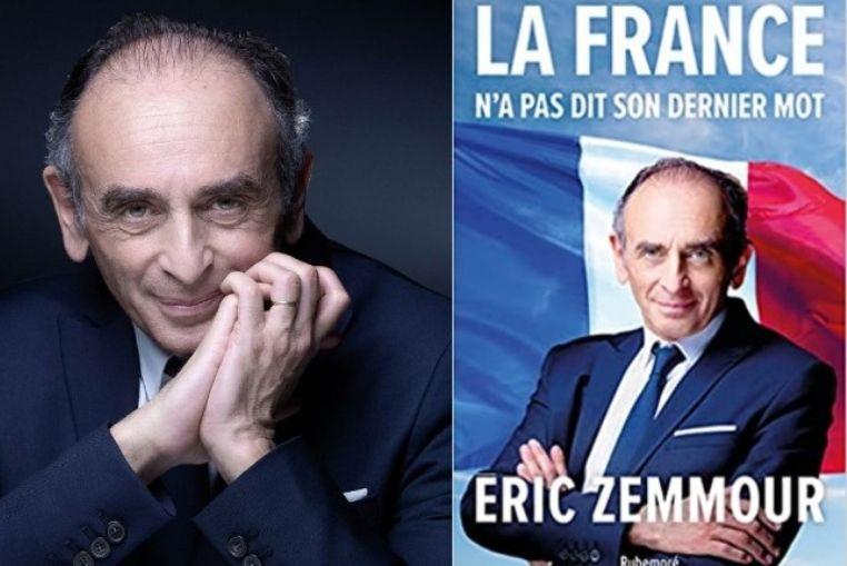 Nouveau livre d'Eric Zemmour