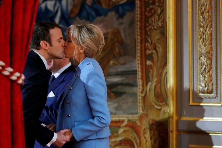 Brigitte et Emmanuel Macron : Un couple trop mignon