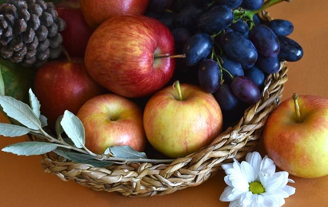 Les fruits et légumes d'automne pour rester en forme
