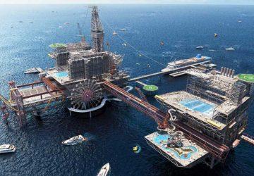 parc d'attractions sur le thème du pétrole