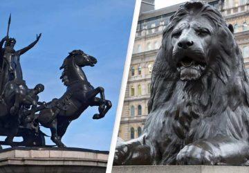 plus de statues d'animaux que de femmes à Londres