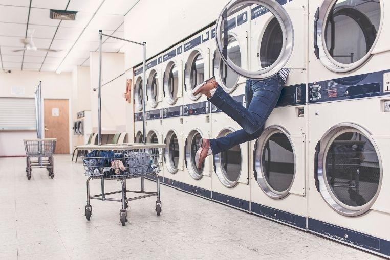 Vêtements et sèche linge